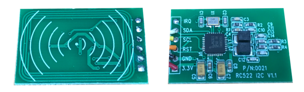 Figure 1 : Le lecteur RFID en version I2C